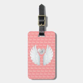 Angel Wings Luggage Tag