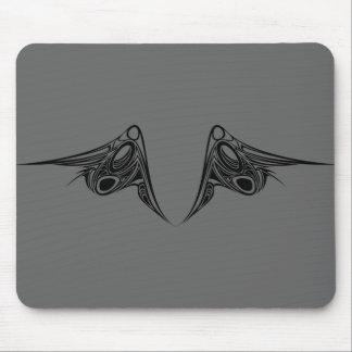 angel wings mouse pad