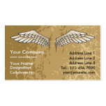Angel Wings Muddy Business Card Template