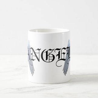 Angel Wings Classic White Coffee Mug