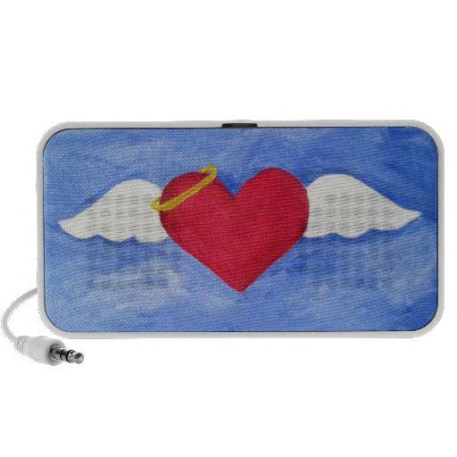 Angel Wings Notebook Speakers
