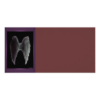 Angel Wings Photo Card