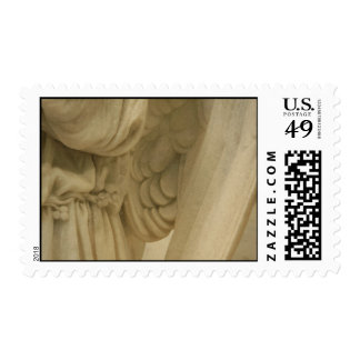 Angel wings postage stamp