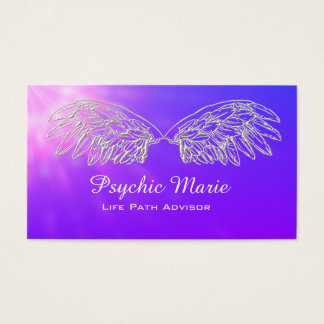 Angel Wings Psychic Medium Business Cards
