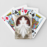 Angel Wings Snowflake Fractal Art Bicycle Playing Cards