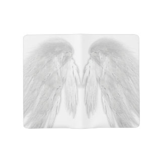 ANGEL WINGS White Customizable Large Moleskine Notebook