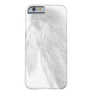 ANGEL WINGS White Right Customizable Barely There iPhone 6 Case