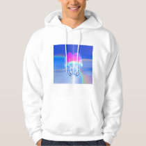 Angel Wings Wrapped Around a Heart Hoodie