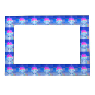 Angel Wings Wrapped Around a Heart Magnetic Picture Frame