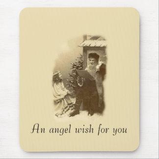 Angel Wish Mouse Pad