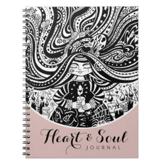 Angel Wishes Journal | Heart & Soul Notebook