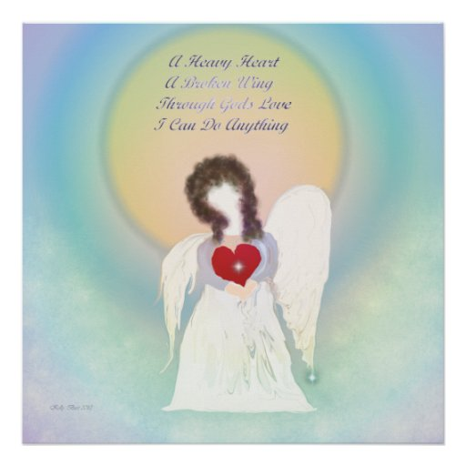 Angel With A Broken Wing Poster