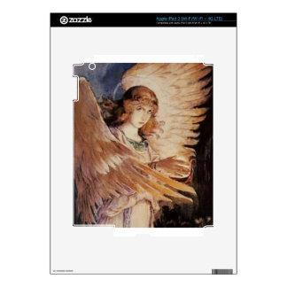 Angel With A Lamp - Viktor Vasnetsov 1885-1896.jpg Decal For iPad 3