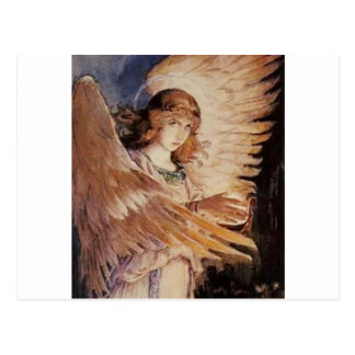 Angel With A Lamp - Viktor Vasnetsov 1885-1896.jpg Postcard