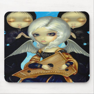 """""""Angel with a Psaltery"""" Mousepad"""