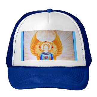 Angel With a Rose (plain) Trucker Hat
