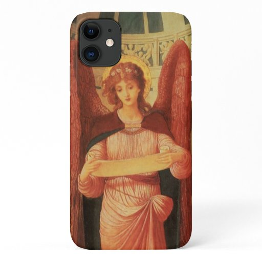 Angel with a Scroll by John Melhuish Strudwick iPhone 11 Case
