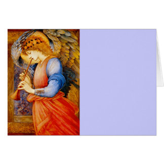 Angel With a Trumpet Card