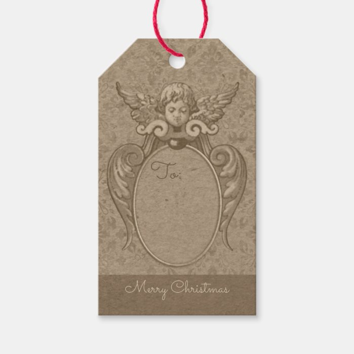 Angel with acanthus leaves frame CC0865 Christmas