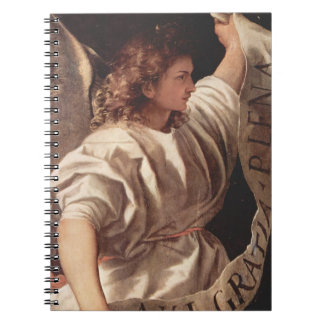 Angel with Banner 1522 Notebook