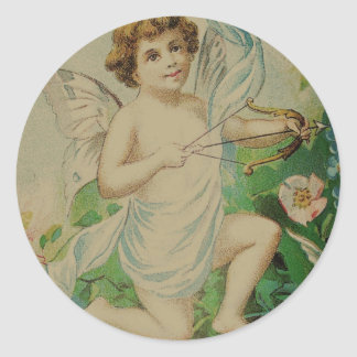 Angel with Bow Sticker