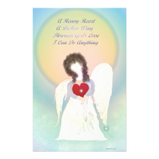 Angel With Broken Wing Stationery
