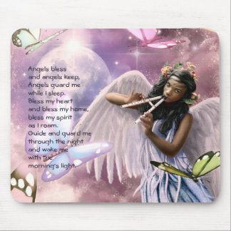 Angel with Butterflies Custom Easter Gift Mousepad