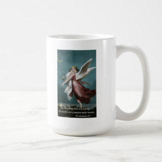 Angel with Child Ecclesiastes 3:1 Coffee Mug