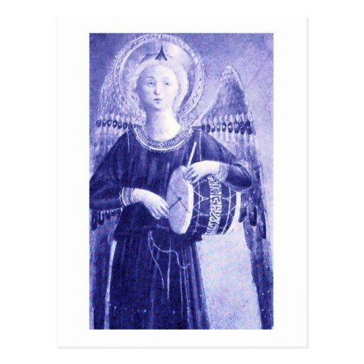 Angel with Drum Post Cards