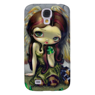 """Angel with Emeralds"" iPhone 3 Case"
