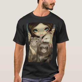 Angel with Ferrets Shirt