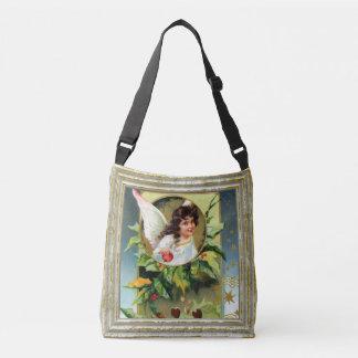 Angel With Holly Crossbody Bag