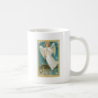 Angel With Horns Classic White Coffee Mug