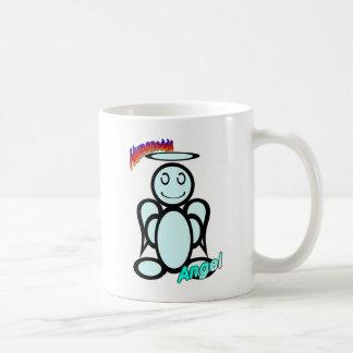 Angel (with logos) coffee mug