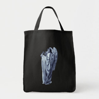 Angel With Lyre Tote Bag