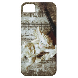 angel with music and violin iPhone 5 barely there iPhone SE/5/5s Case