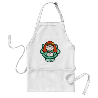 Angel with Red Hair Adult Apron