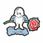 Angel with Rose Hoody