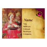 ANGEL WITH ROSES BUSINESS CARD TEMPLATES