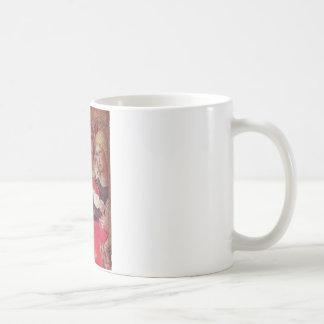 ANGEL WITH ROSES CLASSIC WHITE COFFEE MUG