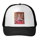 ANGEL WITH ROSES MESH HAT