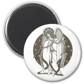 Angel with sash magnet