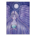 Angel with Small Earth Card by Molly Harrison