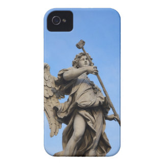 Angel with sponge on Sant Angelo Bridge, the iPhone 4 Case