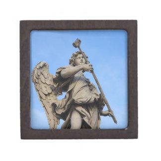 Angel with sponge on Sant Angelo Bridge, the Gift Box