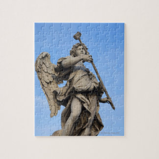Angel with sponge on Sant Angelo Bridge, the Jigsaw Puzzle