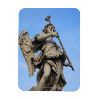 Angel with sponge on Sant Angelo Bridge, the Rectangular Photo Magnet