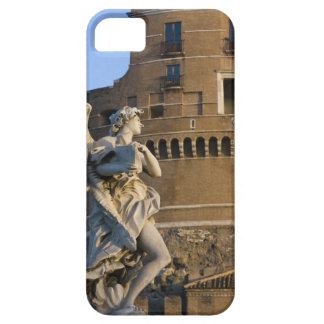 Angel with Superscription in front of the Castel iPhone 5 Cover
