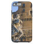Angel with Superscription in front of the Castel Tough iPhone 6 Case