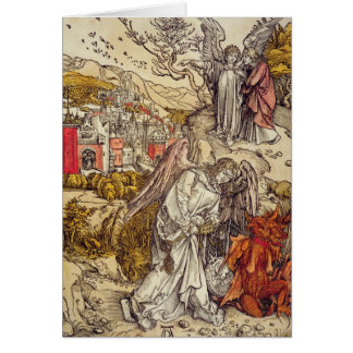 Angel with the Key of the Abyss, 1498 Card